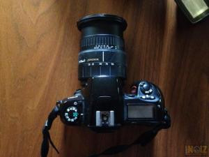 Nikon F60+Nikon 70-300