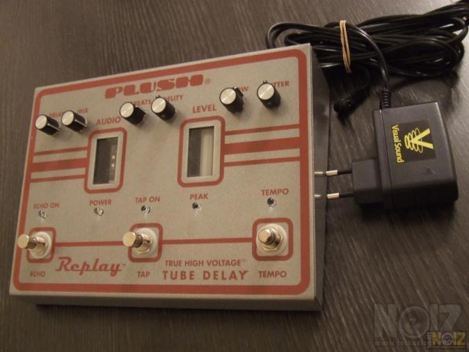 Fuchs audio - PLUSH FX PEDAL - Replay Tube Delay