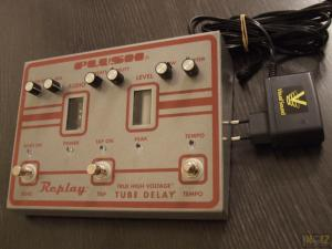 Fuchs audio - PLUSH FX PEDAL - Replay Tube Delay