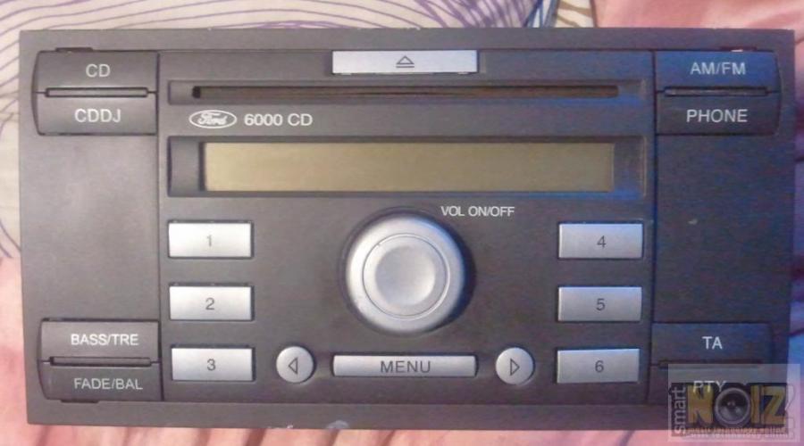 FORD 6000 CD - 2 DIN - ΡαδιοCD
