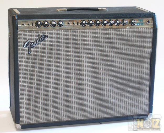 FENDER TWIN REVERB SILVERFACE EARLY 70's