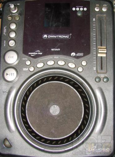 cd player omnitronic djs 1050 2τεμαχια