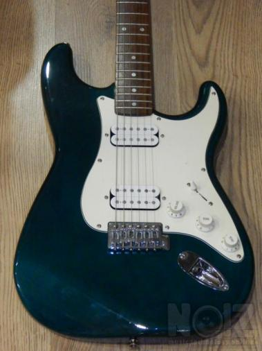 Fender Squier Stratocaster πράσινη