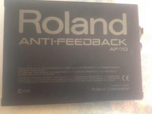 Roland AF-70 Anti-Feedback Processor. Δεκτές κ ανταλλαγές.