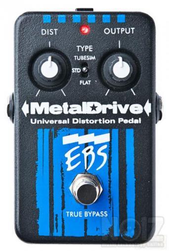 EBS Metal Drive Universal Distortion Pedal NEA TIMH