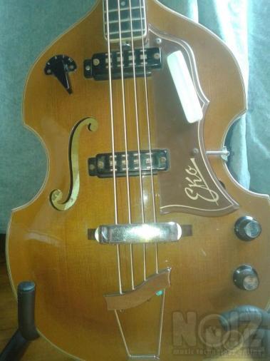 1965 EKO 995 Violin Bass Vintage Original ΝΕΑ ΤΙΜΗ!!!