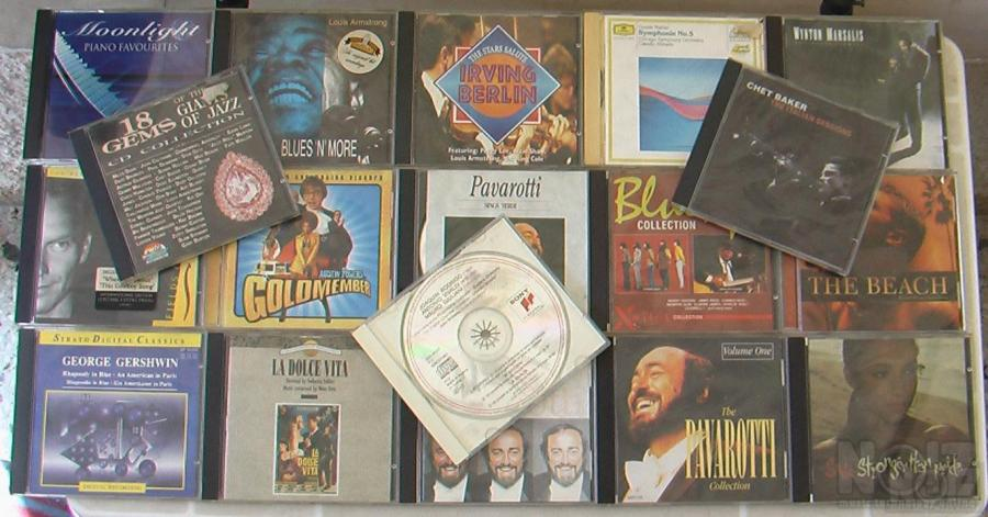 19 cds Jazz & Classic music cds +soundtracks