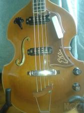 1965 EKO 995 Violin Bass Vintage Original ΝΕΑ ΤΙΜΗ!!!