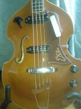 1965 EKO 995 Violin Bass Vintage Original