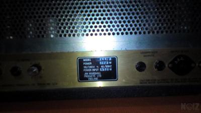 MARSHALL JCM 800 1984