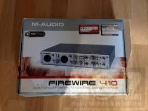Πωλείται κάρτα ήχου M AUDIO 410 firewire