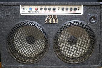 Combo Guitar amplifier by Arco Sound (Λυχνάρης)