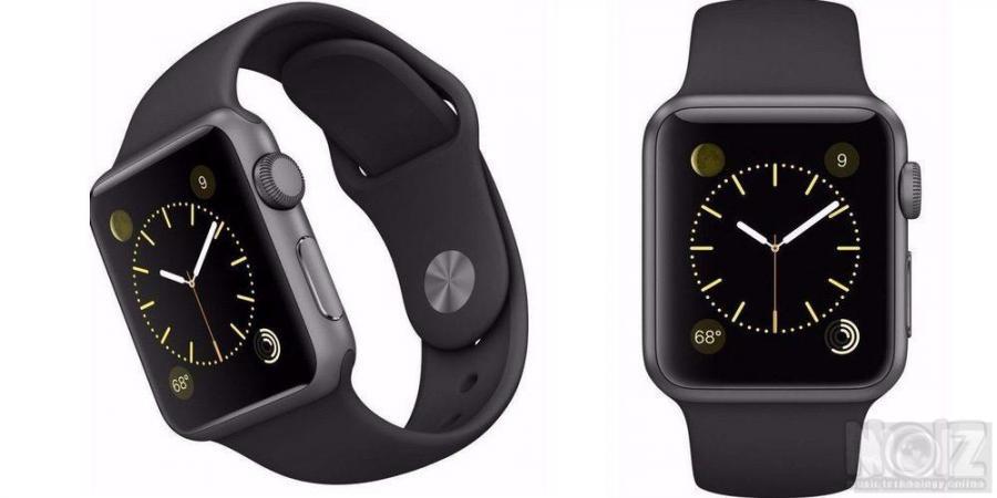 Apple iwatch Black Aluminium Sport