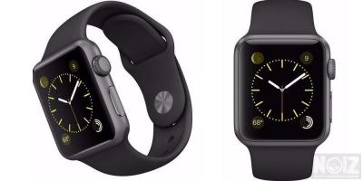 Apple iwatch Black Aluminium Sport