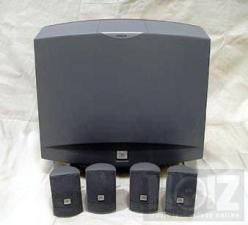 JBL SMS1 SOUNDZONE MUSIC SYSTEM ΣΕΤ ΗΧΕΙΩΝ SUBWOOFER 4 ΔΟΡΥΦΟΡΟΙ