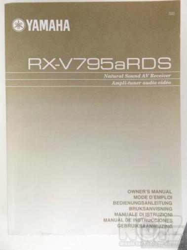YAMAHA RX-795a-RDS original manual