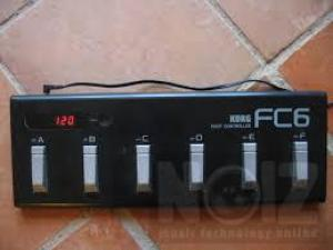 Korg fc6 midi controller