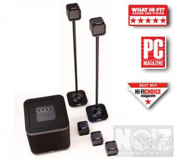 MISSION M-Cube NXT System Σετ ηχείων Home Cinema -SUB 250WRMS-Front + Rear 150 WRMS