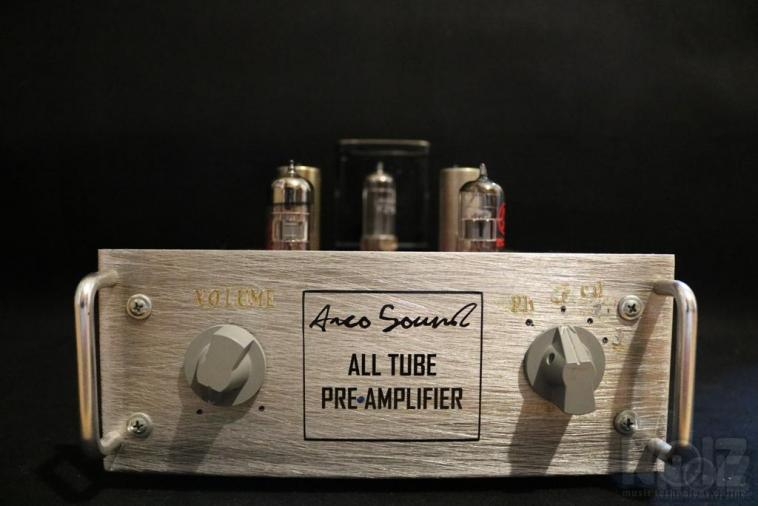 All tube hi-end preamplifier by Arco Sound (Λυχνάρης)