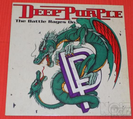 Deep Purple - The Battle Rages On... (First Press)