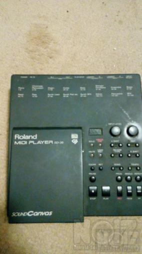 ROLLAND sound canvas sd- 35 midi filer