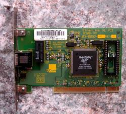 3Com Fast Etherlink XL PCI Ethernet Card