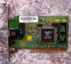 3Com Fast Etherlink XL PCI Ethernet Card