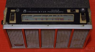 Rare Transistor Radio Phonograph