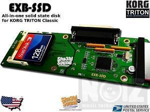 exb-ssd sampler korg triton classic