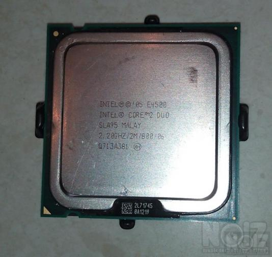CPU Intel Core2 Duo E-4500,2,2Ghz/800mhz FSB ,socket 775
