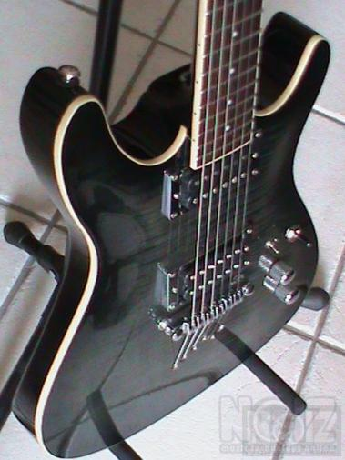 ibanez SZ 520 QM custom modified