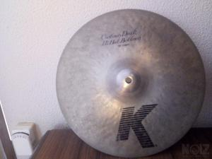 Hi Hat zildjian K Custom Dark 13'