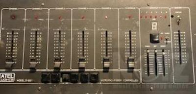 Κονσολα φωτισμού ATEL D6201