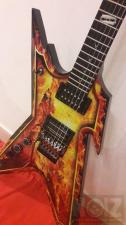Dean Guitars Dimebag Razorback Explosion (Αριστερη) Made in Korea.