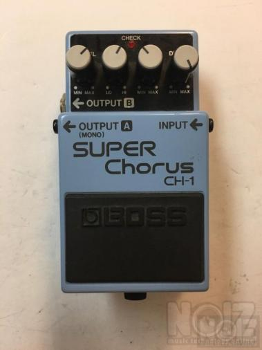 Boss CH-1 Stereo Chorus Pink Label Analog Vintage Guitar Effect Pedal CH1