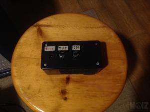 Custom buffer pedal