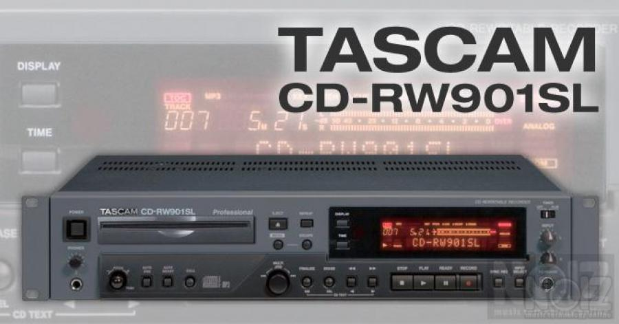 Tascam CD RW901SL CD player recorder