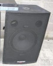 Subwoofer celection cr151 15""