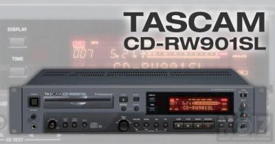 200 ευρω Tascam CD RW901SL CD player recorder