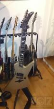 Gibson Explorer e90 Luna Silver Scorpions 1987