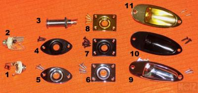 Output Jacks, Jackplates & more parts