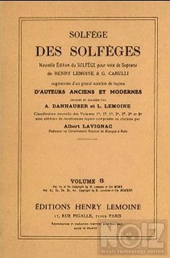 Σολφέζ Lemoine (Λεμουάν) 3C