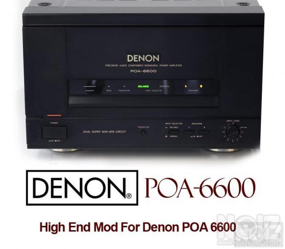 ΣΥΛΕΚΤΙΚΟΣ Denon POA-6600 Mono Blocks Power Amplifier(1989-95) 1ΤΕΜ ΑΡΙΣΤΟΣ
