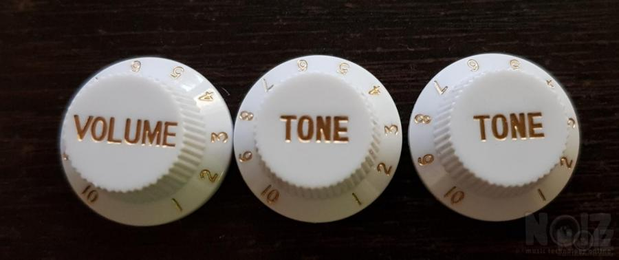 Stratocaster knobs