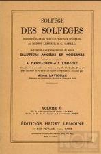 Σολφέζ Lemoine (Λεμουάν) 3Ε