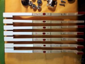 Πληκτρα Fender Rhodes ανακατασκευασμενα  MARK I /II