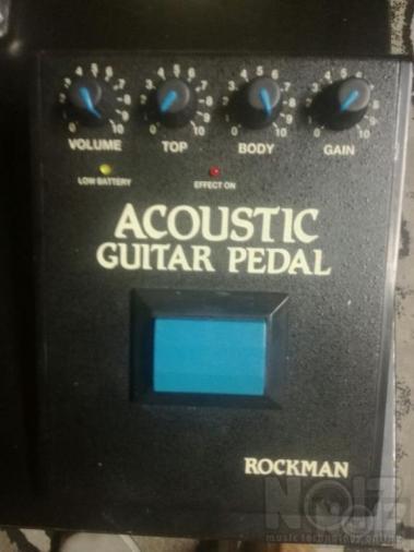 Rockman Acoustic Guitar Pedal