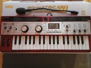 KORG MICROKORG XL (virtual analog/vocoder synthesizer)