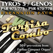 Yamaha Arrangers Expansion Pack: Farfisa Combo
