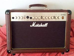 Ενισχυτής ακουστικών οργάνων Marshall AS50D 50W RMS